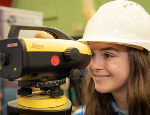Female students from local schools attend Women in Construction Careers Showcase